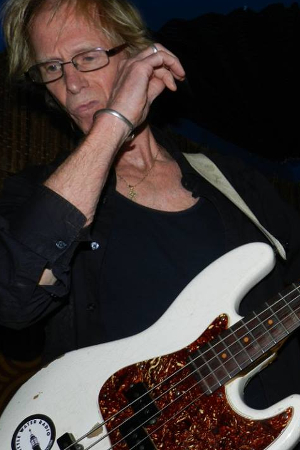 Mike Muller on bass